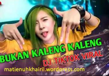 DJ MAEL LEE BUKAN KALENG KALENG LAGU TIK TOK VIRALL TERBARU ENAK BANGET